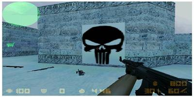 Tatuaj Counter-Strike 1.6 Punisher. Se dezarhiveaza in folderul cstrike.